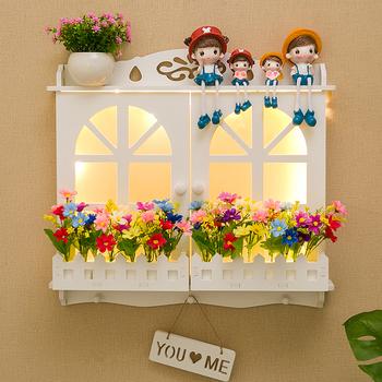 电表箱免打孔创意客厅欧式箱装饰画