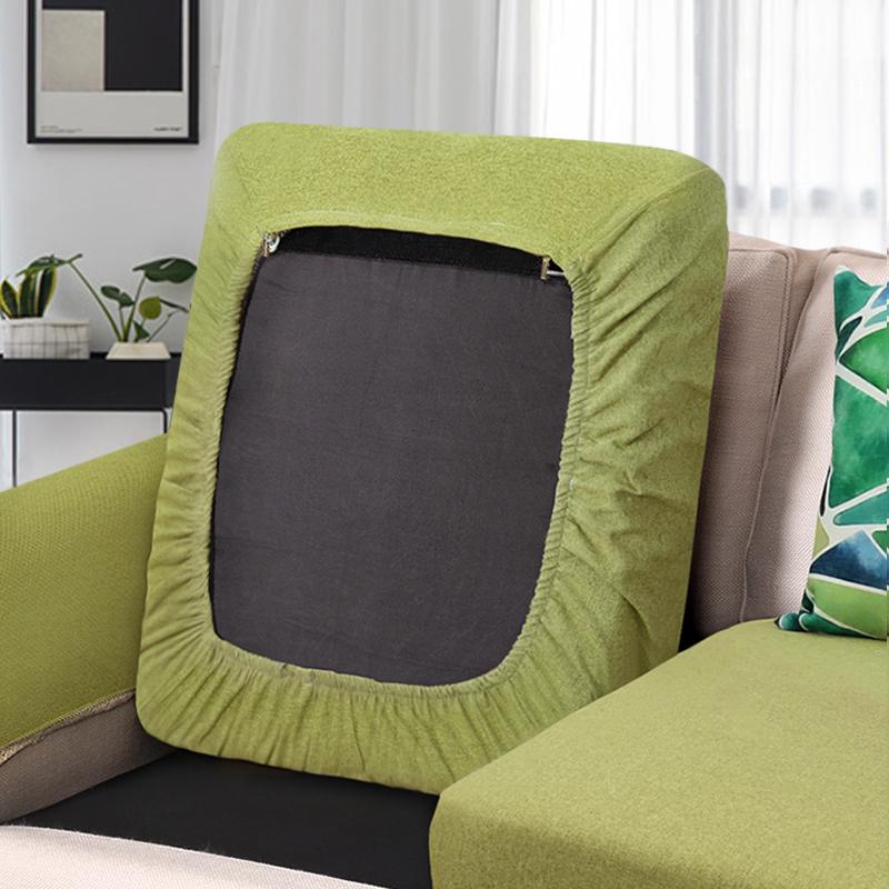 10-10新券纯色棉麻沙发套罩巾定做沙发垫四季通用全包万能套北欧魔力沙发笠
