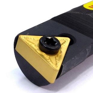 螺钉式三角形内孔数控车刀杆95度角S16Q S18Q S20R STUNR16右手刀