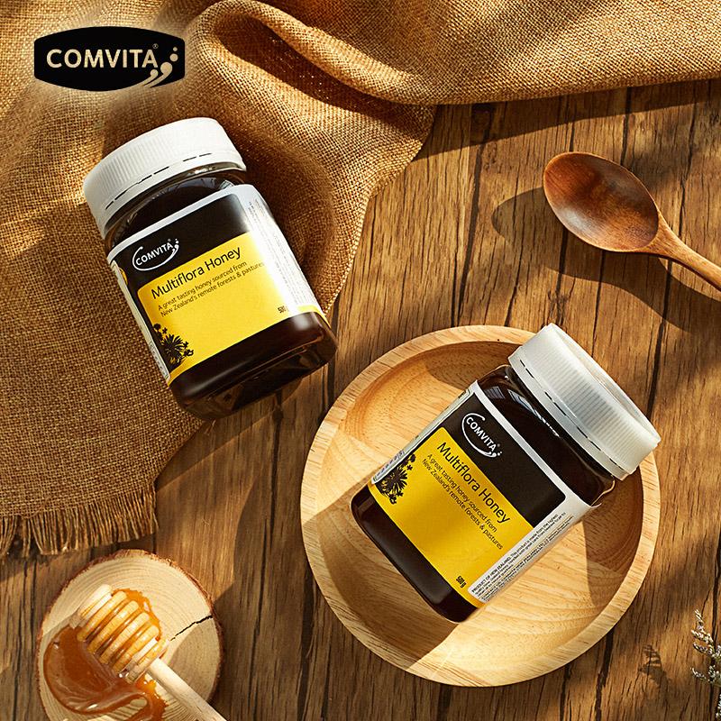 comvita新西兰原装进口多花种蜂蜜限1000张券