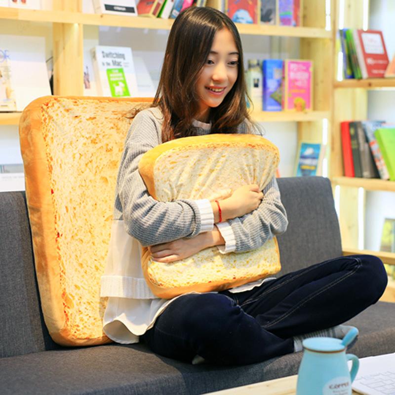 Моделирование нарезанный хлеб подушка подушка микро богатые в этом же моделье плевать отдел квадрат хлеб китти вздремнуть подушка день рождения подарок женщина