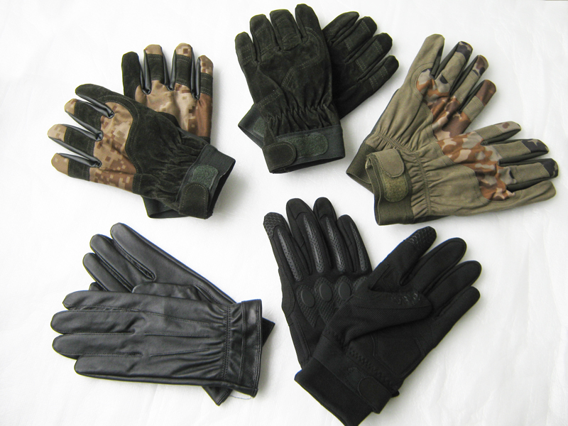 07 inner gloves camouflage training gloves leather gloves outdoor anti cold Cycling Gloves