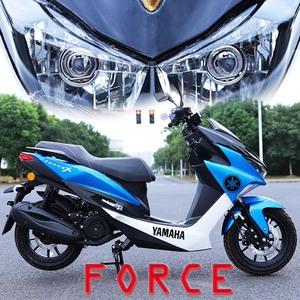 2020新林海150大踏板摩托车整车燃油宏图二代可上牌电喷雅马哈款