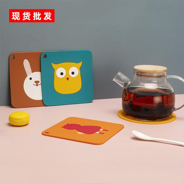 隔热垫防烫耐热家用碗垫防水硅胶餐桌桌垫子菜北欧锅垫盘餐垫杯垫