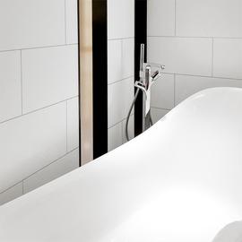 日式北欧风格亚光哑光高端白色卫生间瓷砖哑光纯白砖全瓷通体砖图片