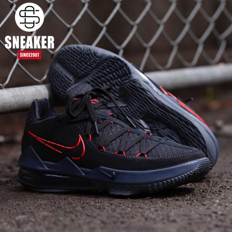 耐克 Nike Lebron 17 Low 詹姆斯气垫减震 篮球鞋 CD5006-001