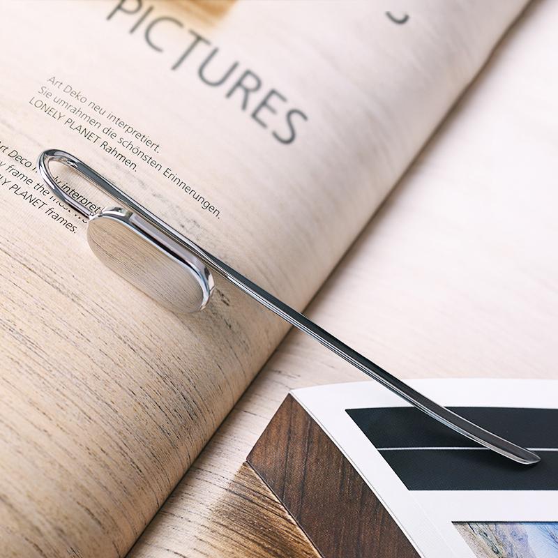 德国philippi天鹅颈书签金属创意定制高档书签刻字中国风礼品包邮