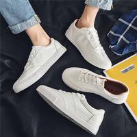 查看男鞋2021年夏百搭小白鞋男士休闲白色板鞋ins情侣帆布鞋子男潮鞋价格