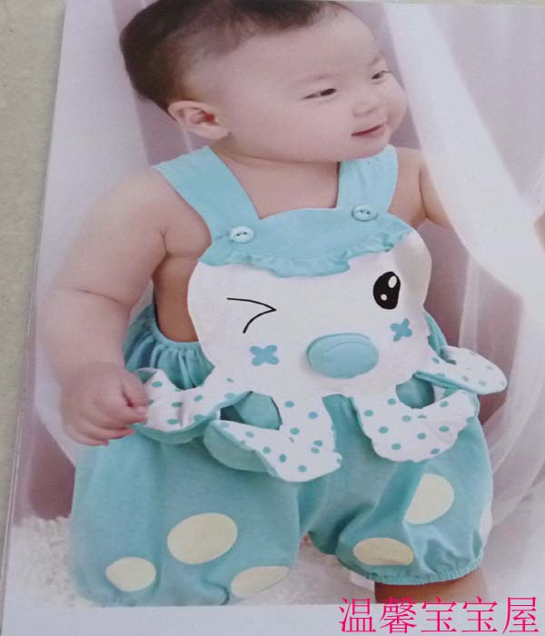 Xubao babys short climbing babys one-piece climbing suit for boys and girls