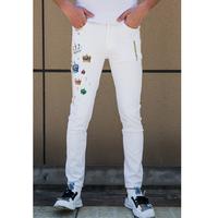 男士2020夏季新款个性潮流牛仔裤
