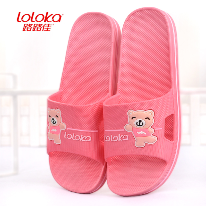Lulujia summer lovely antiskid women's sandals summer women's indoor home bathroom bath shoes Korean version