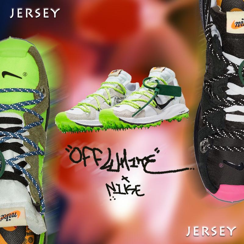 OFF WHITE  Nike Zoom Terra Kiger5 OW 聯名解構跑鞋 CD8179-100