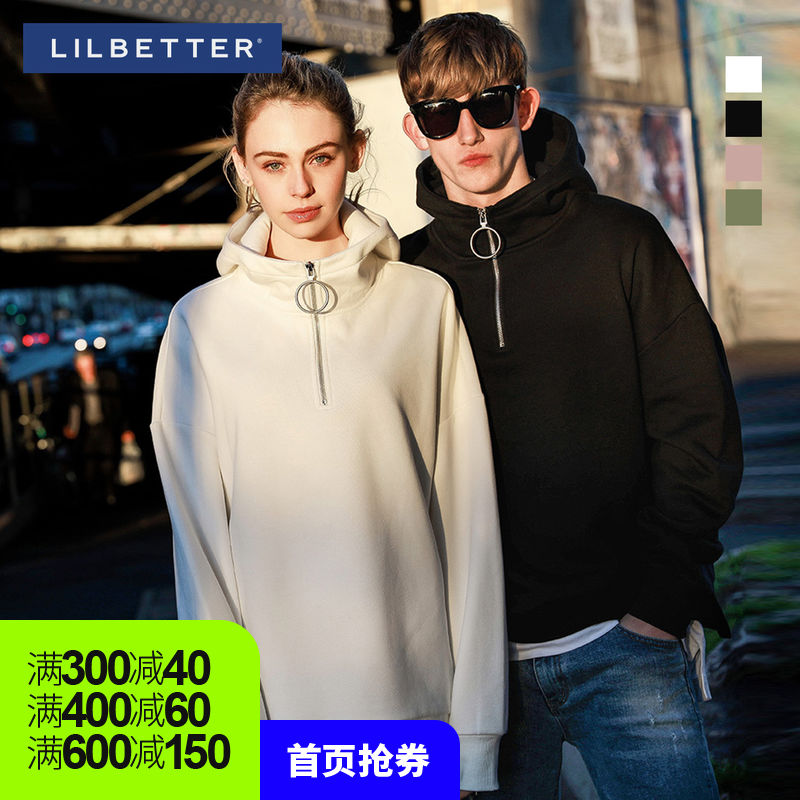 Lilbetter Men's sweater Hooded Korean Edition Trend Couples dress loose coat Korean firms Same item Easy Sweaterin the Men's clothing, Sweater  category - from Buy2taobao.com to provide professional Taobao agent buy service