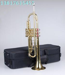 上海百灵小号乐器 M4015D 镀黄小号 正品 黄小号 百灵铜管 4015