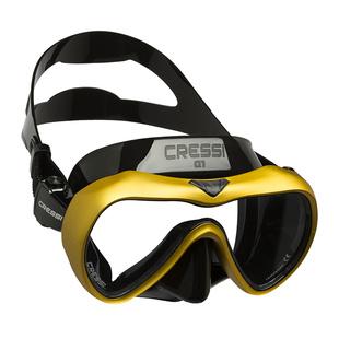 Cressi A1 潛水面鏡防霧膜專業水肺深潛眼鏡浮潛塗層鍍膜面罩裝備
