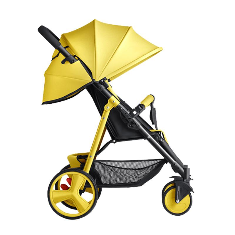 Матч прибыль следовать ребенок тележки может сидеть можно лечь легкий зонт автомобиль портативный складные дети шок детские руки тележки