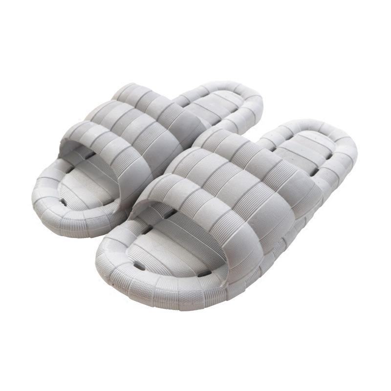 【越南进口天然橡胶鞋】夏季 男女 防臭室内厚底居家浴室防滑拖鞋