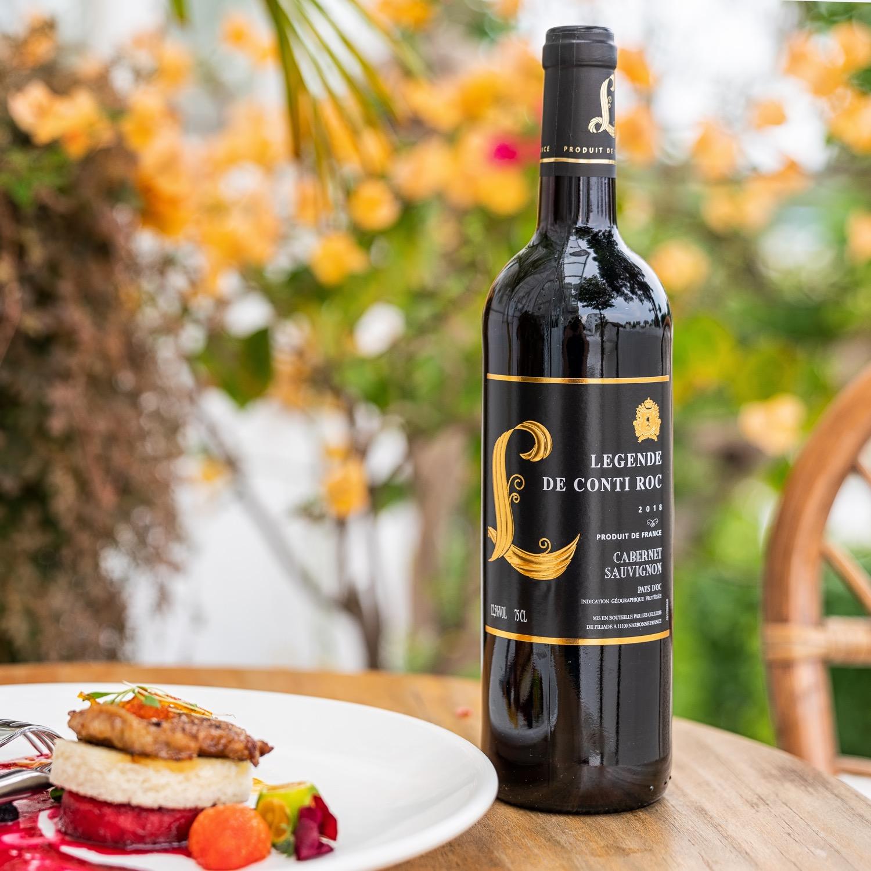清货换资金!法国红酒原瓶装进口奥克产区IGP赤霞珠干红葡萄酒2016