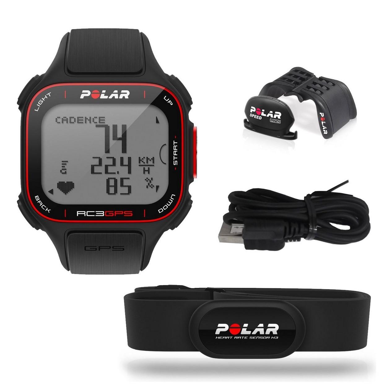 清仓甩卖盒装Polar博能心率表RC3 GPS跑步健身越野马拉松
