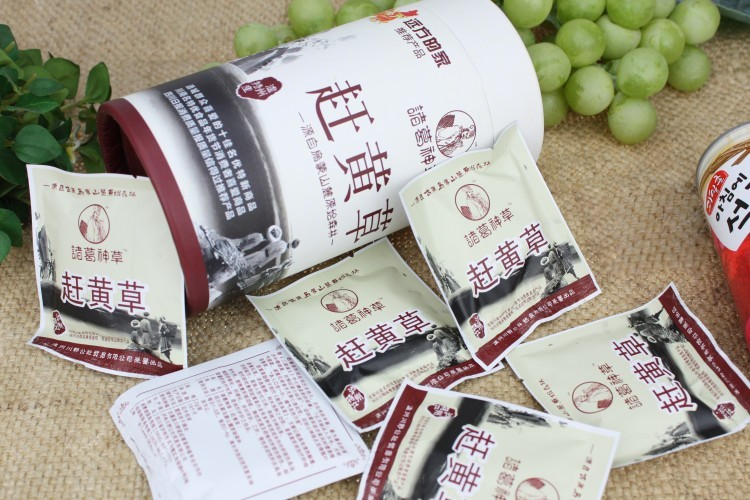 [Zhuge Shencao] 15 bags of tea made from the whole plant of stem leaf flower of Pistacia purpurea