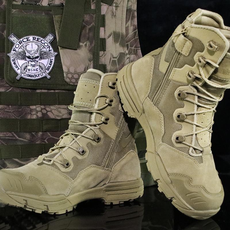 优耐特7.0超轻秋冬季沙漠靴战术靴特种兵男07军靴511作战靴陆战靴