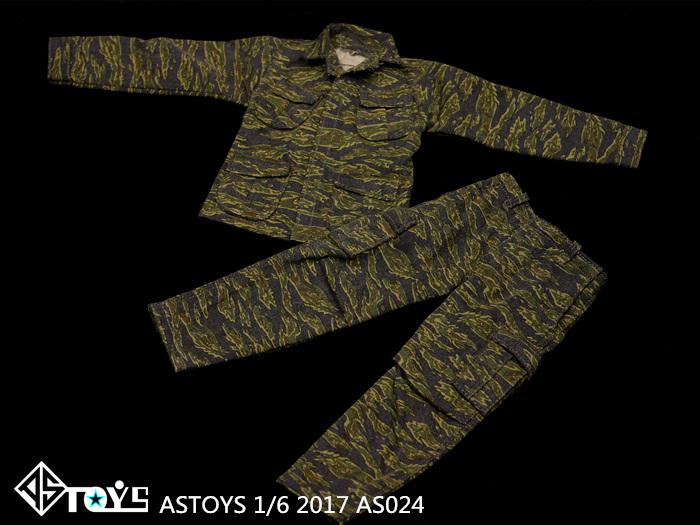 ASTOYS 1/6 兵人 AS024 越战 虎纹迷彩 套装 现货