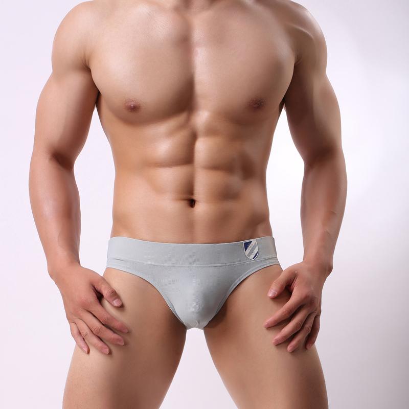 Low waist sexy breathable elastic tight shorts trendy mens large sports comfortable u convex bag triangular underwear