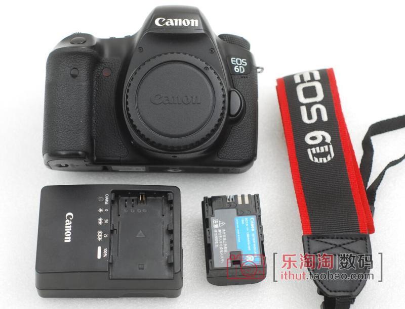 正品佳能EOS 6D全画幅数码单反相机