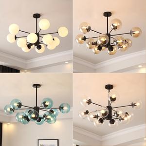 北欧餐厅卧室家用大气客厅灯具