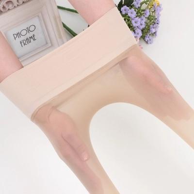 8160#无缝无痕丝袜 超薄天鹅绒性感连裤连袜连脚丝袜