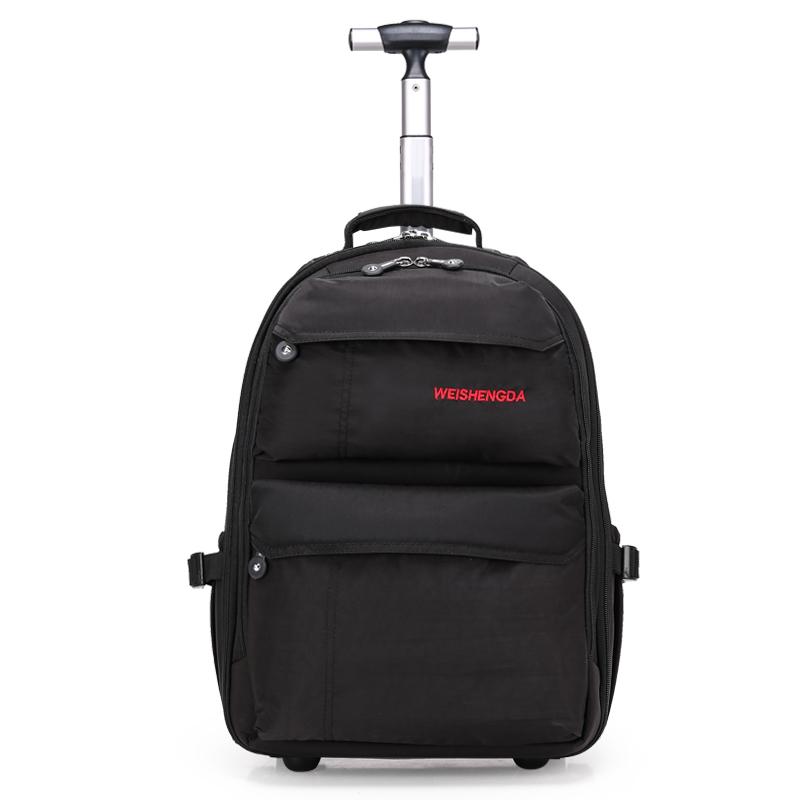 威盛达新款拉杆包 双肩包 旅行包 学生包 书包 防泼水男女通用包