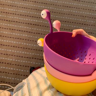 馨帮帮杂货铺 果盘零食盘水果篮洗菜盆沥水篮果篮客厅家用水果盘