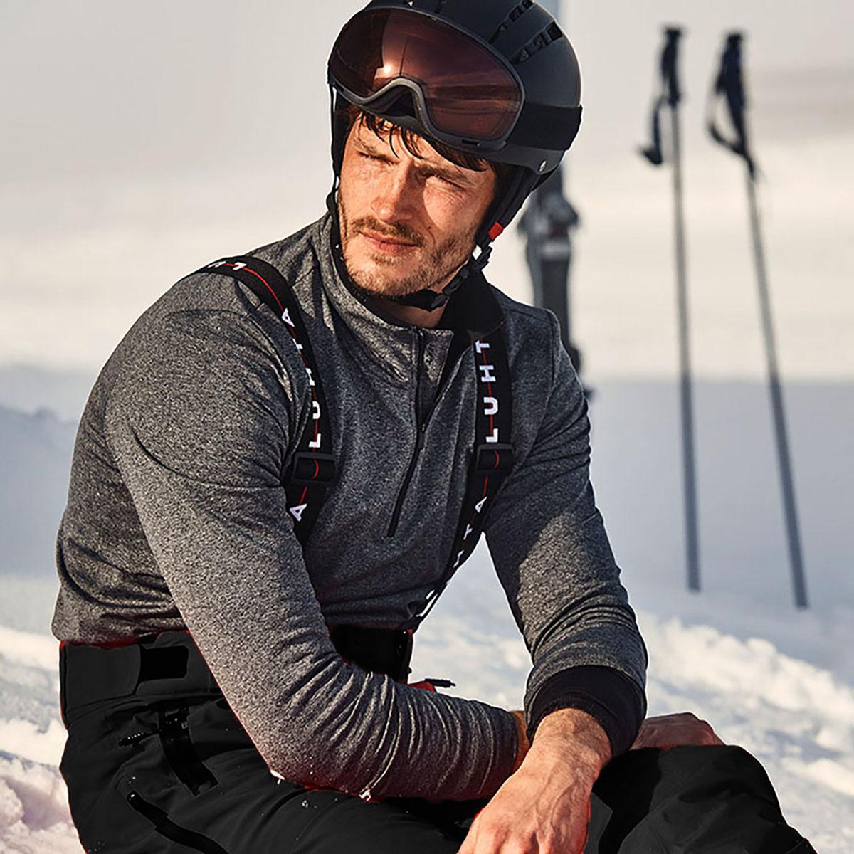 北欧芬兰卢赫达加厚防水透气滑雪裤