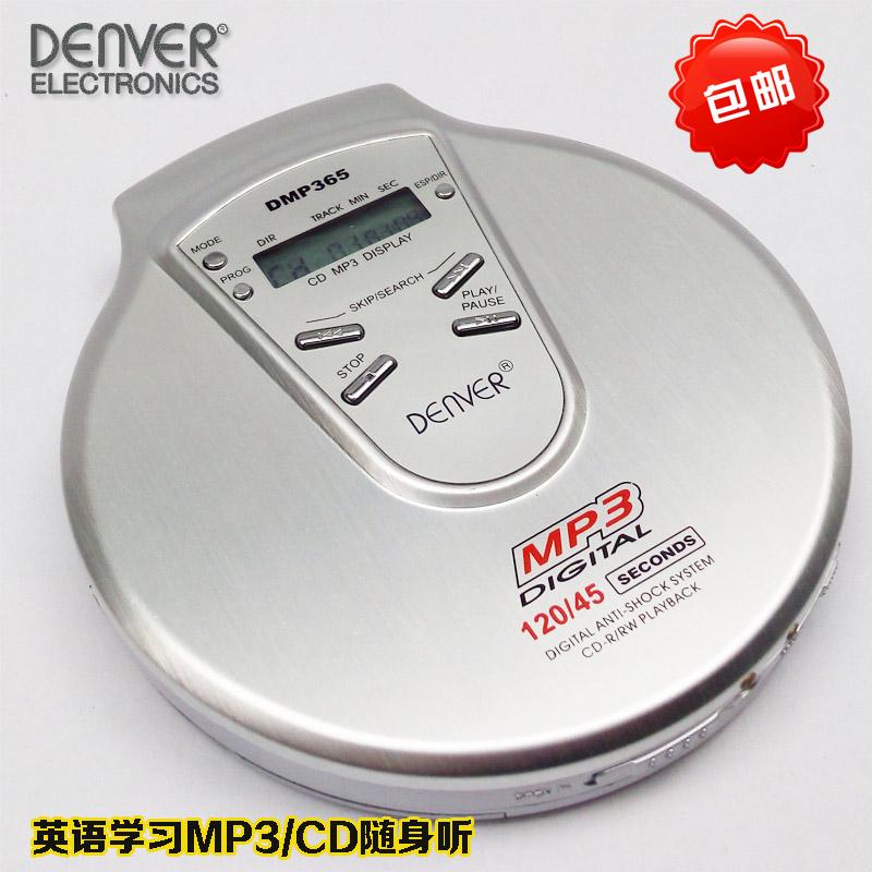 Бесплатная доставка ESP ударопрочный портативный CD портативный слушать MP3 английский слушать сила изучение CD машинально мини CD трансляция машинально