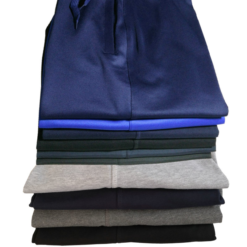 校服裤女初高中学生宽松直筒纯色光版深蓝黑运动裤男校裤加绒包邮