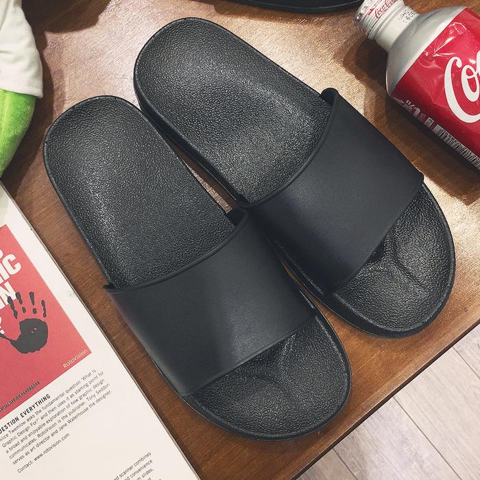 夏季情侶款涼拖鞋時尚室外拖鞋家居家室內涼拖浴室拖鞋男女加大碼