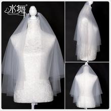 Water Dance Bride 2020 Новая короткая двойная белая белая свадебная головка пряжа свадебная голова пряжа аксессуары R0181