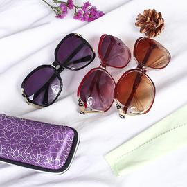 衣都格格潮流太阳镜墨镜复古百搭女偏光太阳镜新款防紫外线眼镜图片