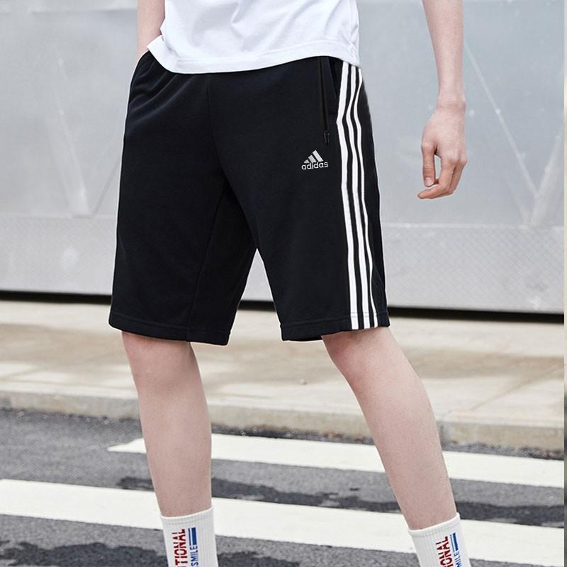 adidas阿迪达斯运动短裤m short library夏季男子运动短裤 FT2838