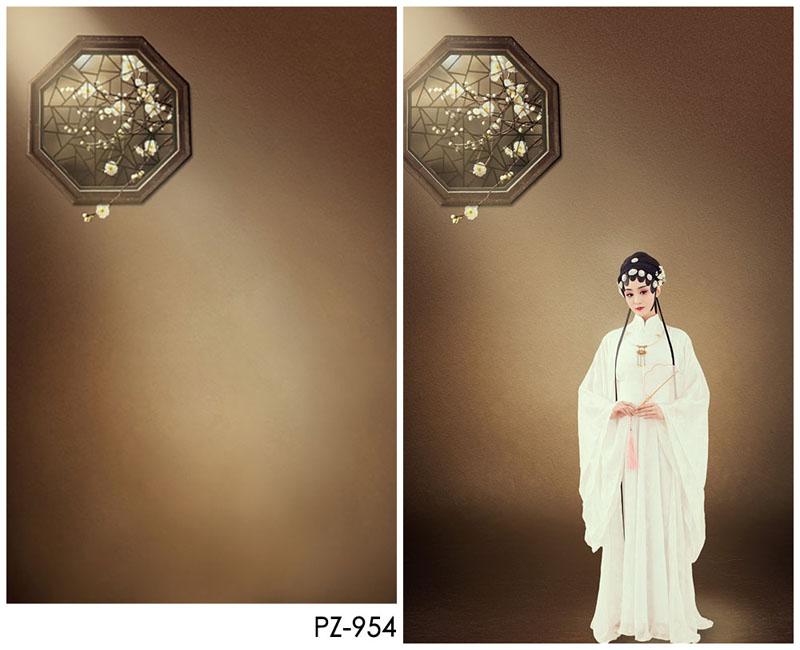 影楼古装摄影创美背景纸 中国风性感戏曲背景布pz-954清扬婉兮