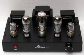 老陳膽機 EL34手工搭棚 黑色 發燒 膽機 電子管功放機圖片