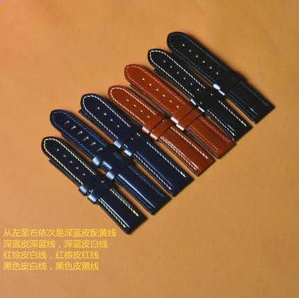 安麒手工坊 真皮手表带 蓝天使表带定制 植鞣表带 媲美马臀表带