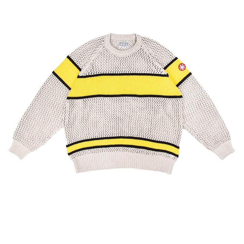 C.E CAV EMPT 19FW LINE LOOSE KNIT 日本潮牌條紋粗線針織衫毛衣
