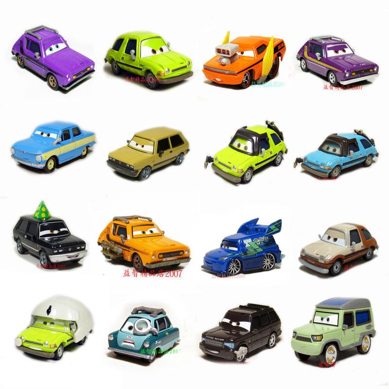 汽车总动员2合金车模型缺稀款坏蛋阿瑟黑帮家族格兰姆儿童玩具车