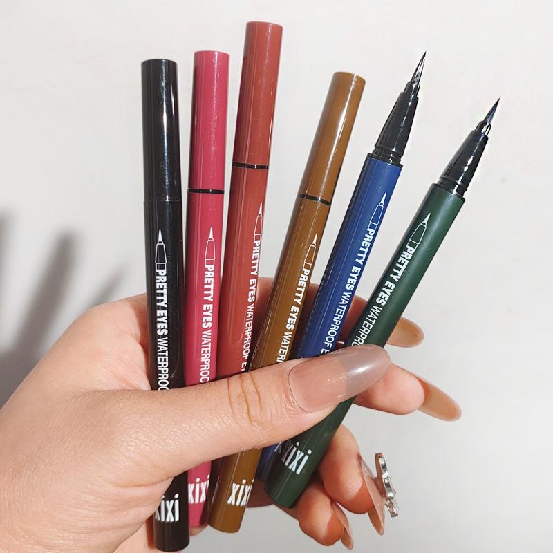 张凯毅推荐xixi彩色眼线笔防水不晕染棕色白色极细防汗不脱色持久
