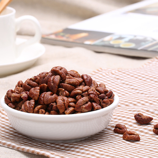 New Arrivals Lin'an pecans small package small walnut pecan flavor meat snack nuts shipping