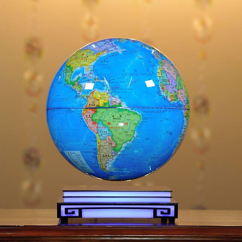 8寸/12寸磁悬浮地球仪悬浮佛像创意年终庆典开业生日送礼办公桌摆