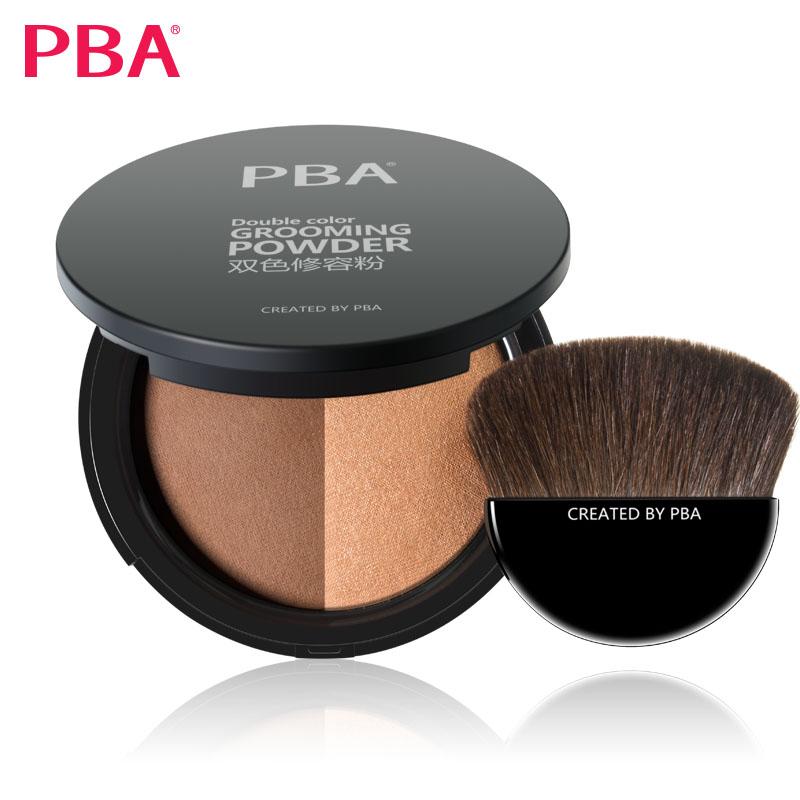 PBA双色修容粉 高光阴影鼻影侧影 小v脸性感裸妆修颜