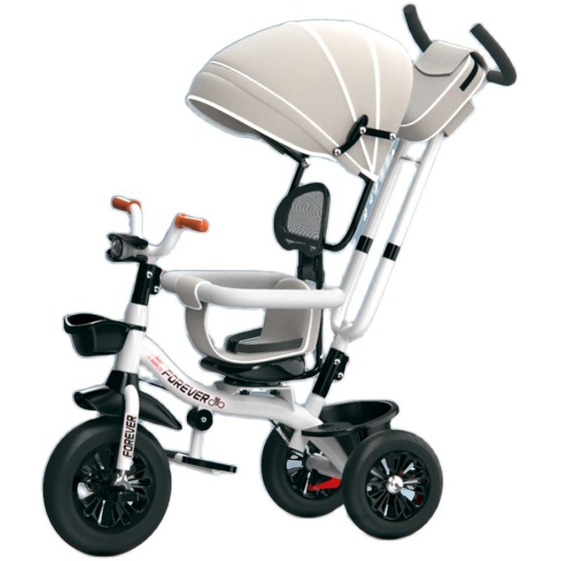 永久手推车宝宝出行神器岁溜三轮车质量怎么样