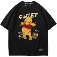 美式复古女小熊短袖夏卡通宽松t恤评价好不好